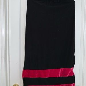 Banana Republic Skirts - Maxi Velvet Skirt